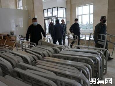 绥芬河方舱医院预计4月11日启用,预计可提供600余张床位