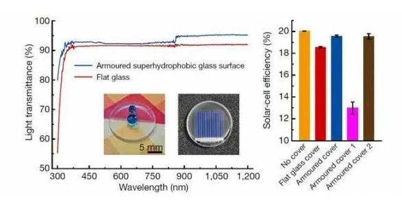 《设计坚固的超疏水表面》:新型表面材料超疏水性与机械稳定性并存