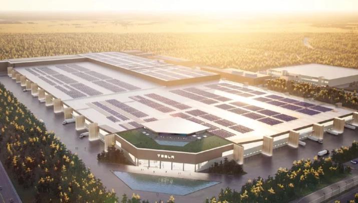 《【天富招商】特斯拉得州超级工厂开建 有望在美建设第三座工厂》