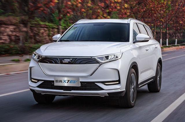 《【天富代理平台注册】长安欧尚首款智能纯电SUV汽车X7 EV上市!搭载人脸识别系统》