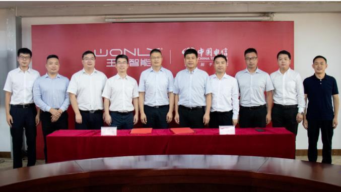 王力安防与中国电信战略合作,打破行业门面传统手工生产工艺
