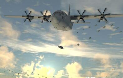 """DARPA第二架""""小精灵""""""""空中无人机航母""""呼之欲出"""