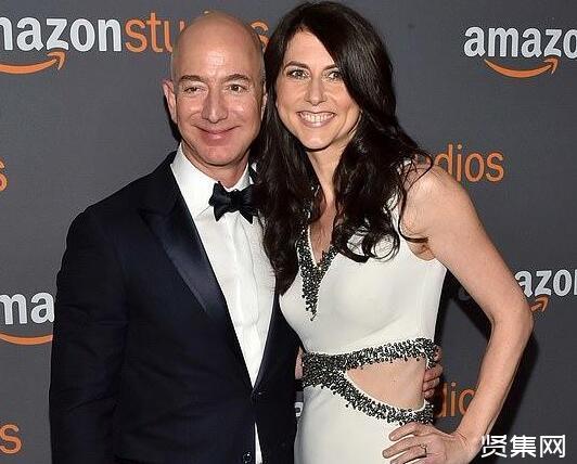 贝索斯与其前妻双双稳坐世界男女首富宝座