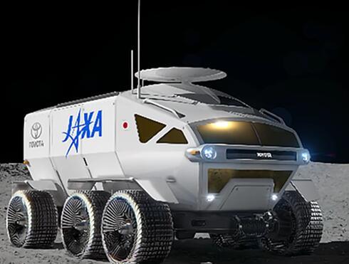 """丰田氢动力""""月球巡洋舰""""正式推出  续航达一万公里可绕月球一圈"""