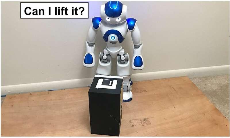 《【天富娱乐平台代理】一种可以使机器人确定他们是否能够举起沉重箱子的技术》