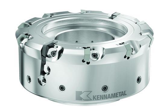 《【天富代理平台注册】肯纳金属推出KCFM™ 45系列铣削产品,波纹度低于10µm Wt》
