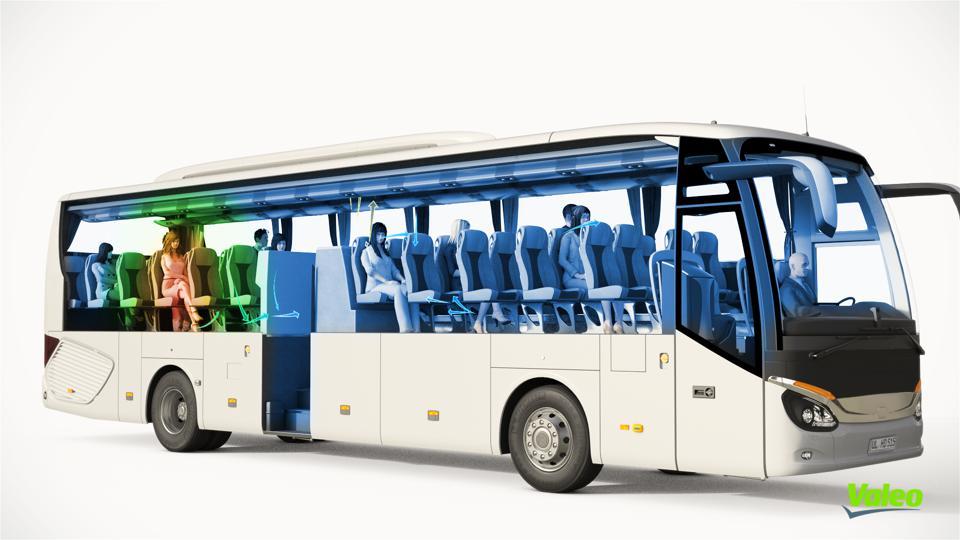 《【天富娱乐登录地址】法雷奥公司表示,他们的空气消毒系统可以杀死公交车上的COVID-19以及其他病毒》