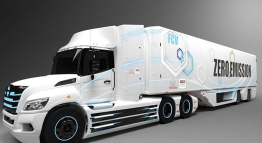 丰田公司和日野公司将为北美市场开发8级氢燃料电池电动卡车