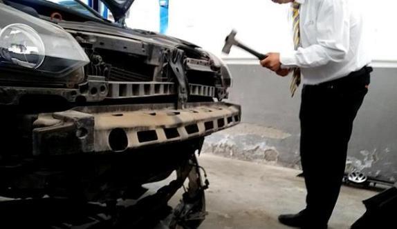 《【天富娱乐代理奖金】上汽大众4S店砸坏好零件再修 虚增车辆维修费》