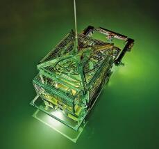 《【天富平台代理奖金】萨博海眼豹水下机器人助力水下管道的精确检查》