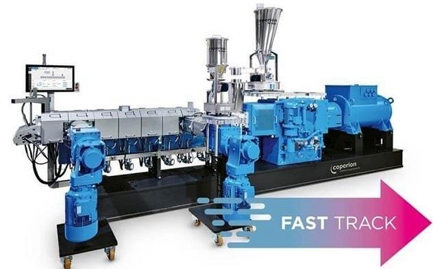 科倍隆推出新型双螺杆挤出机 用于生物塑料加工交货期短