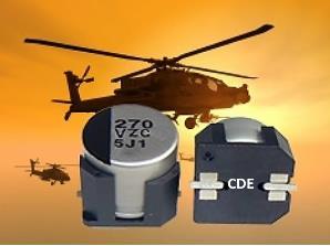 康奈尔公司推出SMT铝电解电容器系列 能处理高达30 g的连续振动