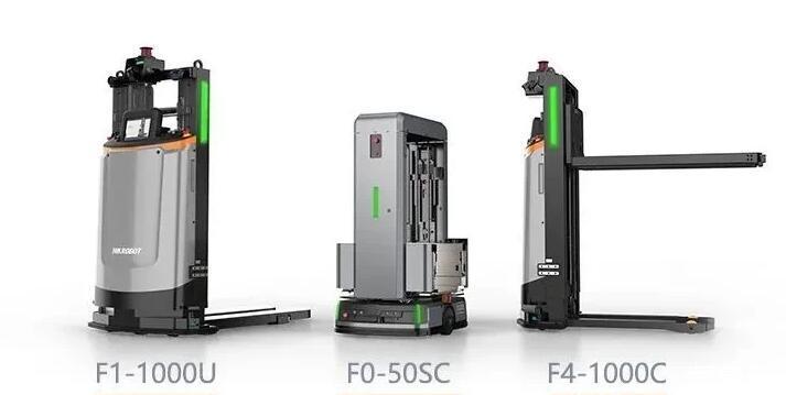 未来无反射板叉车AGV将会成为行业发展趋势