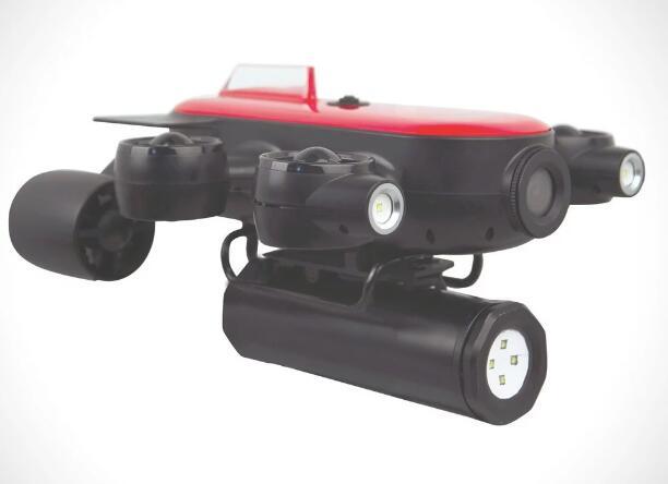 Geneinno最新T1水下无人机正式发布 配备六个推进器