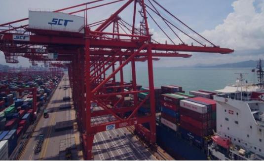 粤港澳大湾区组合港正式启用 只需要进行一次报关就可通关