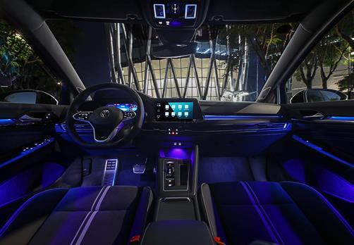 一汽-大眾全新數字高爾夫上市 全新數字座艙精準觸達無限未來