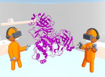 最新虛擬現實VR技術 可以更快研發抗病毒藥物