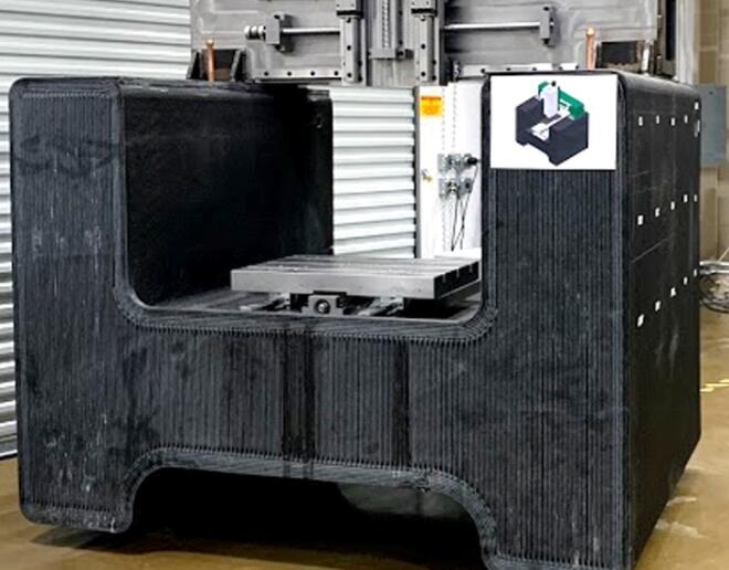 3D打印机床解决大型机器铸件的供应链问题