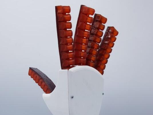 弹性聚合物自愈机器人 受到损害能自动愈合