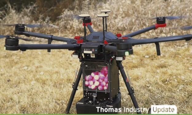 """抗击野火新武器!美国农业部采用了带有""""龙蛋""""的消防无人机"""
