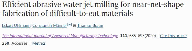 以柔克刚,用水去切割刀具都难以切动的材料!