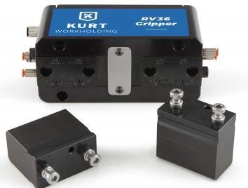 Kurt推出新的RV36机械手:提高零件夹持的灵活性