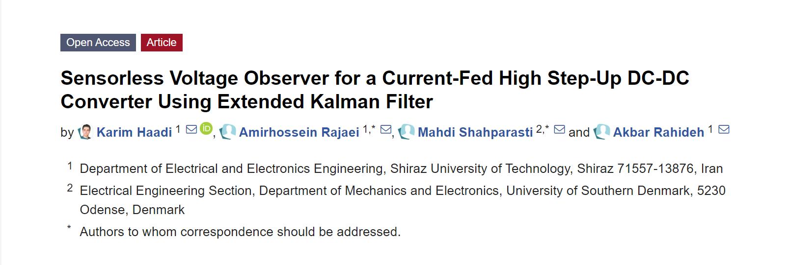 《【天富登陆app】新型无传感器电压观测器,可有效降低DC-DC变换器的成本!》