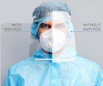 SABIC推出新型防雾膜 可用于护目镜、防护面罩等