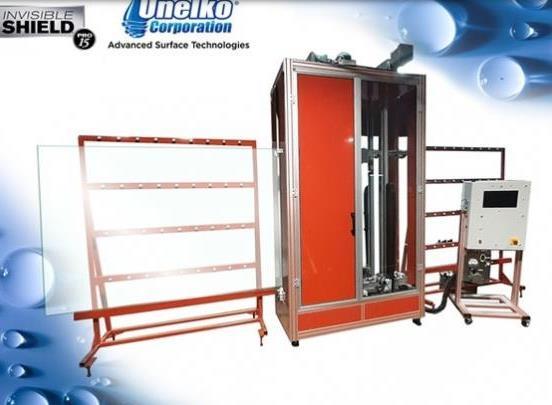 Unelko推出新的隐形屏蔽微爆玻璃涂层机