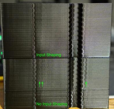 控制系统输入整形可以解决3D打印重影问题