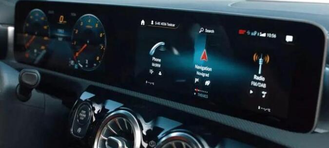 奔驰全球首创超宽屏幕 有什么令人惊艳的亮点?
