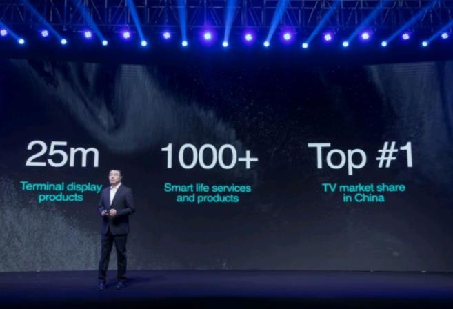 全球首款社交全色激光电视来了!海信终端显示产品份额中国第一