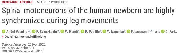 婴儿快速踢腿的机制被发现,科学家借助可穿戴手环检测婴儿的运动
