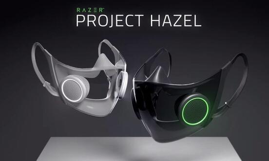 雷蛇推出N95透明智能口罩:可调节气流 还装了紫外线消毒系统