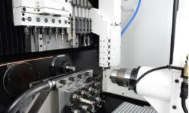 《【天富娱乐网页版】新型机床面世:为一八轴瑞士铣削和车削中心 提高复杂工件的生产效率》