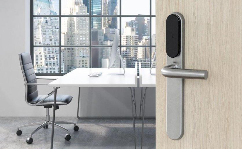 亚萨合莱推出SMARTair锁眼盖,智能手机一键开锁确保门的安全性