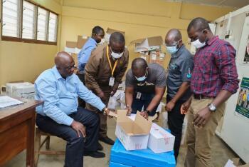 无人机正在帮助加纳地区加快新冠疫苗的交付速度