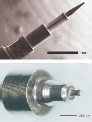 激光被应用于小型、复杂零件的车削