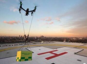 全国首个无人机急救送血专用航线建立,单次可运输4000-5000毫升血量
