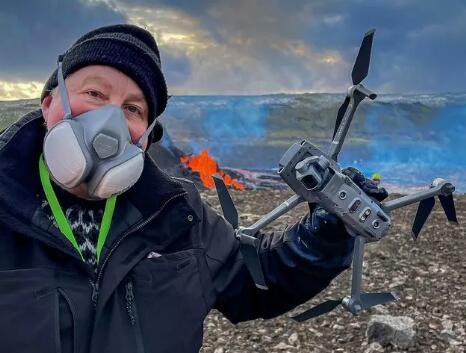 冰岛数十架航拍无人机无辜坠落,究其原因或是火山喷发致地磁紊乱所致