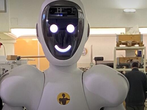 人形包装机器人,使用人工智能执行预编程的任务