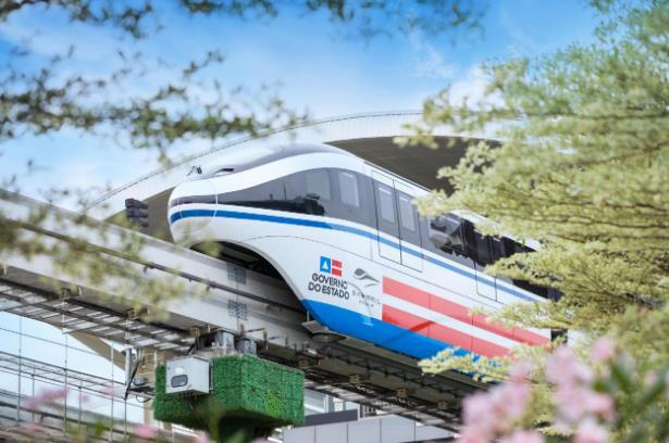 新里程碑!比亚迪全球首条跨海云轨车辆下线