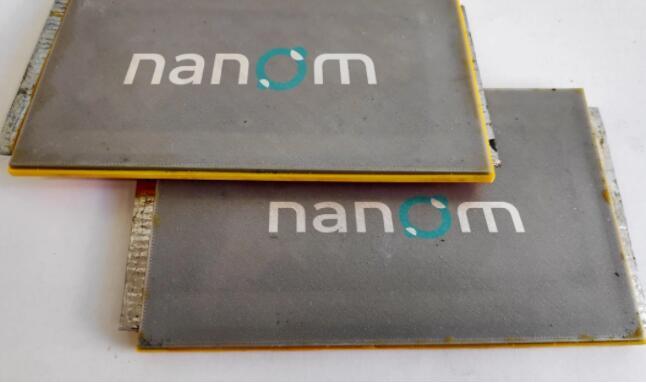 Nanom推出纳米颗粒锂电池 比传统锂电池更环保