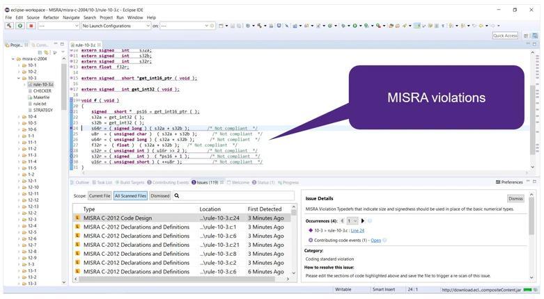 一文了解如何应对MISRA和AUTOSAR编码要求的实际挑战