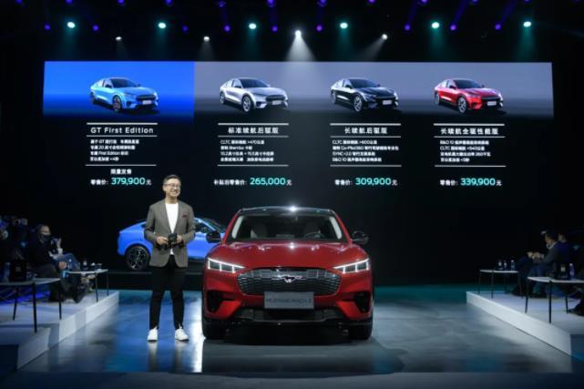 福特首款纯电SUV车型Mustang Mach-E上市!搭载百度新SYNC+2.0智行信息娱乐系统