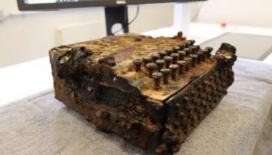 计算机断层扫描恢复了二战时期的密码机的信息
