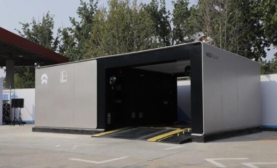 全球首座全智能换电站正式投运 中石化携手蔚来共建智能电动汽车出行新生态