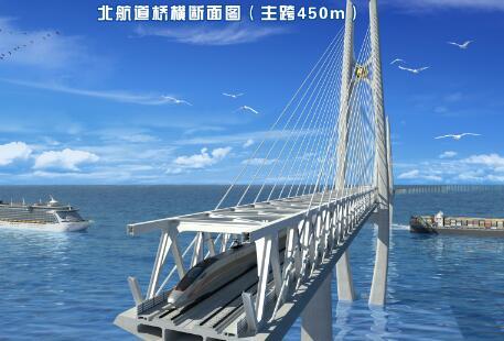全球最长、设计标准最高、时速350公里的高铁跨海大桥完成海上勘探