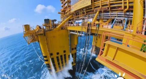 中国首个千亿方自营深水大气田钻井作业全部完成