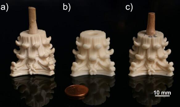 CUBICURE开发出象牙色3D打印材料,用于工艺品翻新